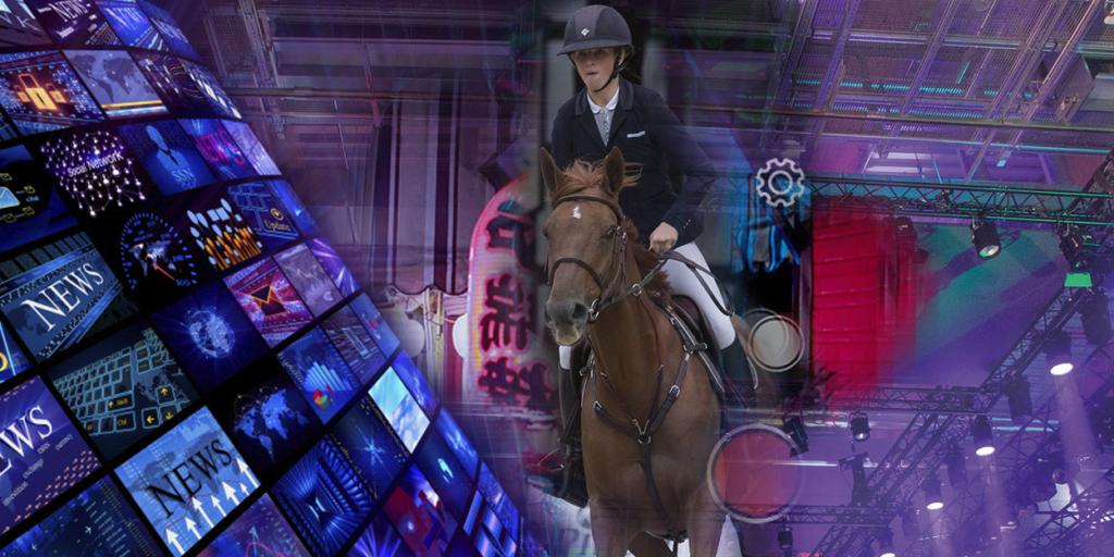 Pferdesport Werbetechnik
