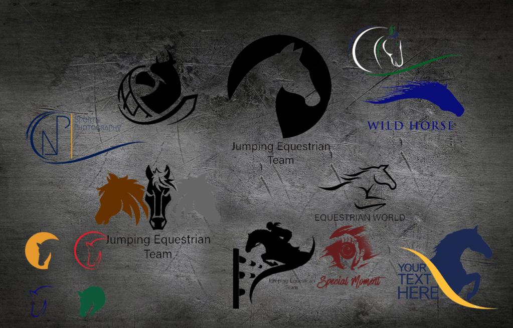 LOGO für dei Sportwelt, Marketing im Pferdesport