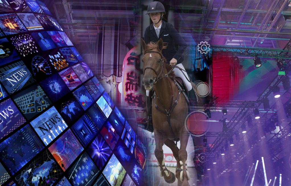 Werbetechnik für den Pferdesport