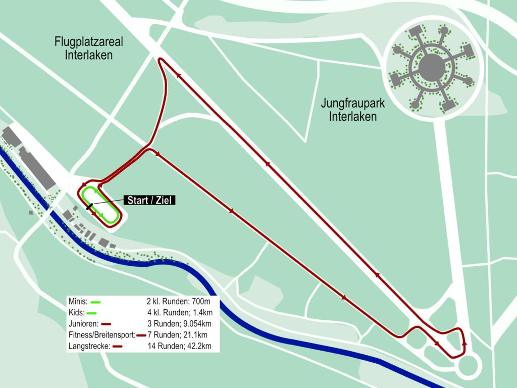Streckenplan Swiss Skate Tour