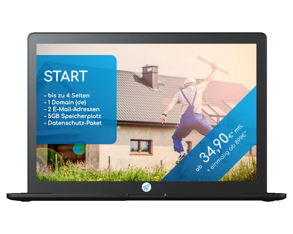 Produktbild Website Paket