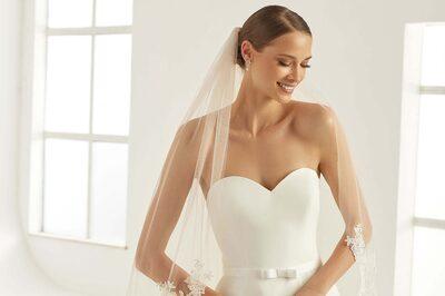 Ein Schleier für die Braut bei Princess Dreams Brautmode.
