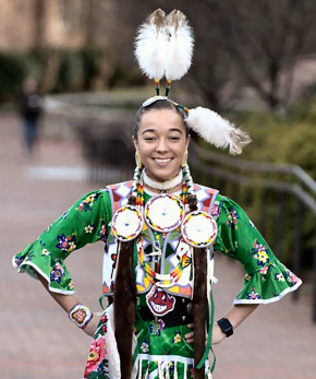 Caitlin Denise Harrison – Miss Haliwa-Saponi Indian Princess 2019-2020 1st Runner Up