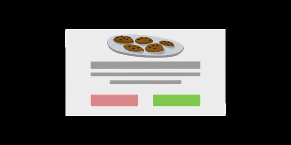 Cookies-Hinweis-UI