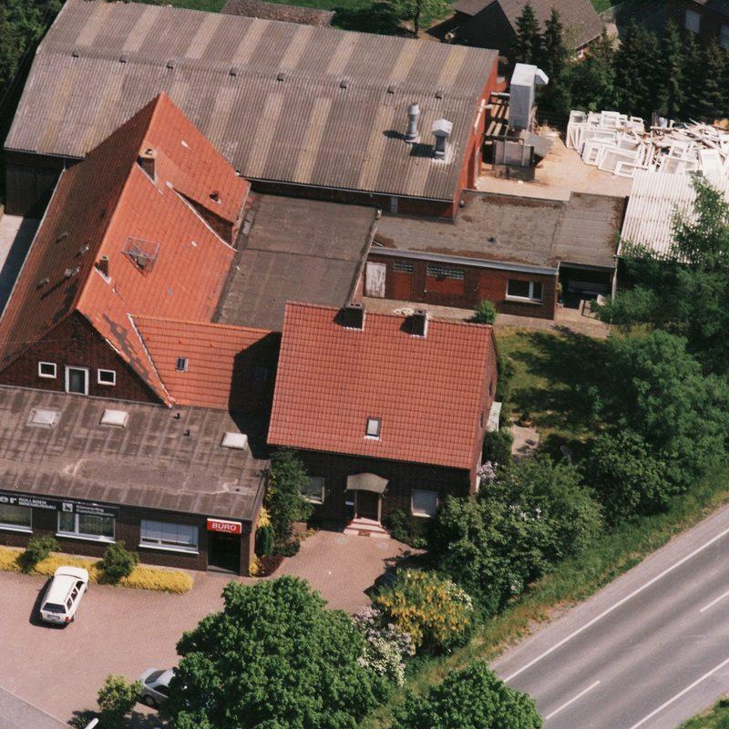 1947 / 1952 Erweiterung des Bürogebäudes