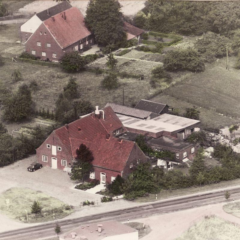 1939 Neubau der Tischlerei