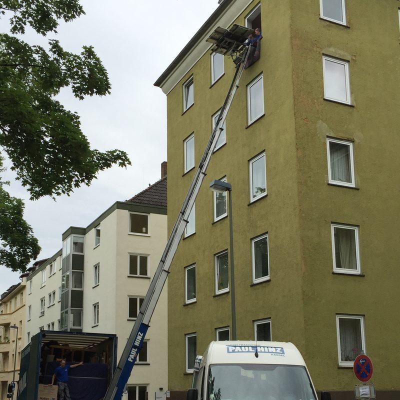 Umzug durchgeführt von Paul Hinz Transport GmbH in Kassel.