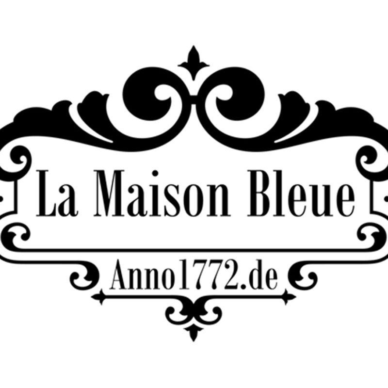 anno1772.de – La Maison Bleue   Website mit Hotelbuchung (WordPress), Logo, Fotoshootings