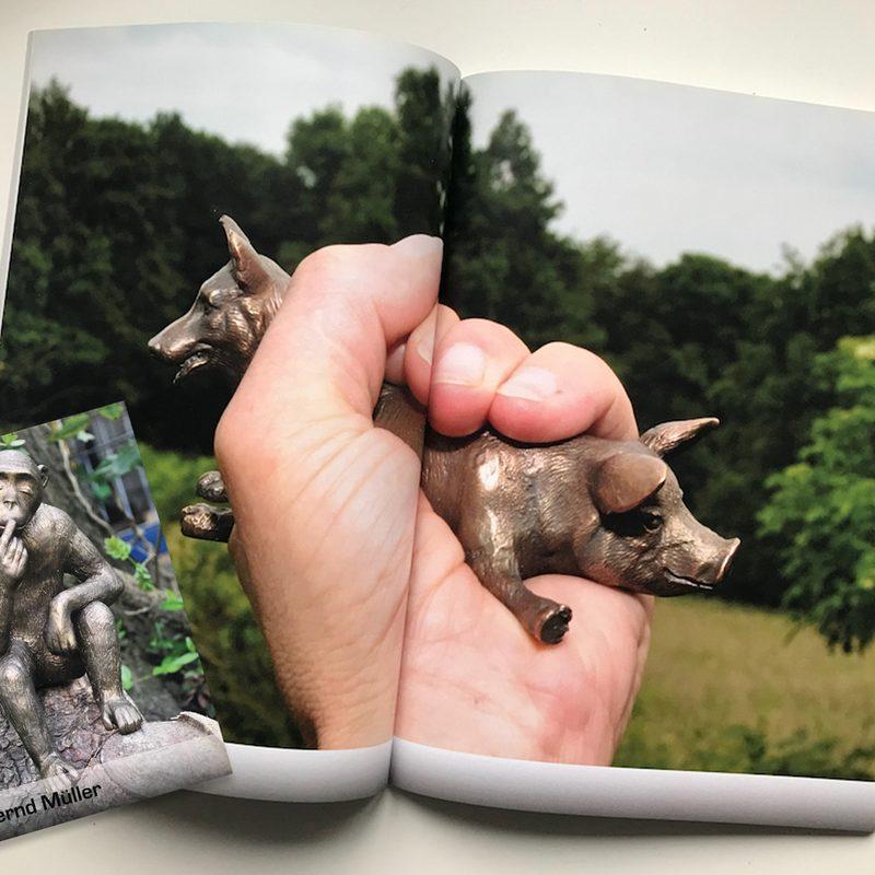 Bernd Müller, Künstler und Bildhauer  Kunstkatalog, Drucksachen, Photoshootings