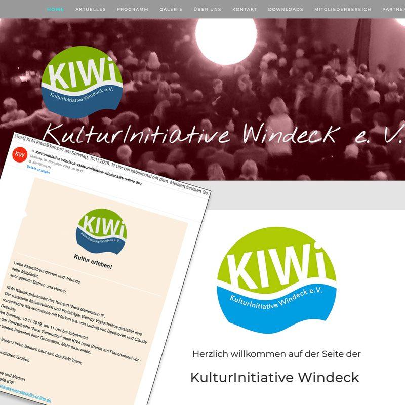 KulturInitiative Windeck   Newslettermarketing (Mailchimp), lfd. Beratung