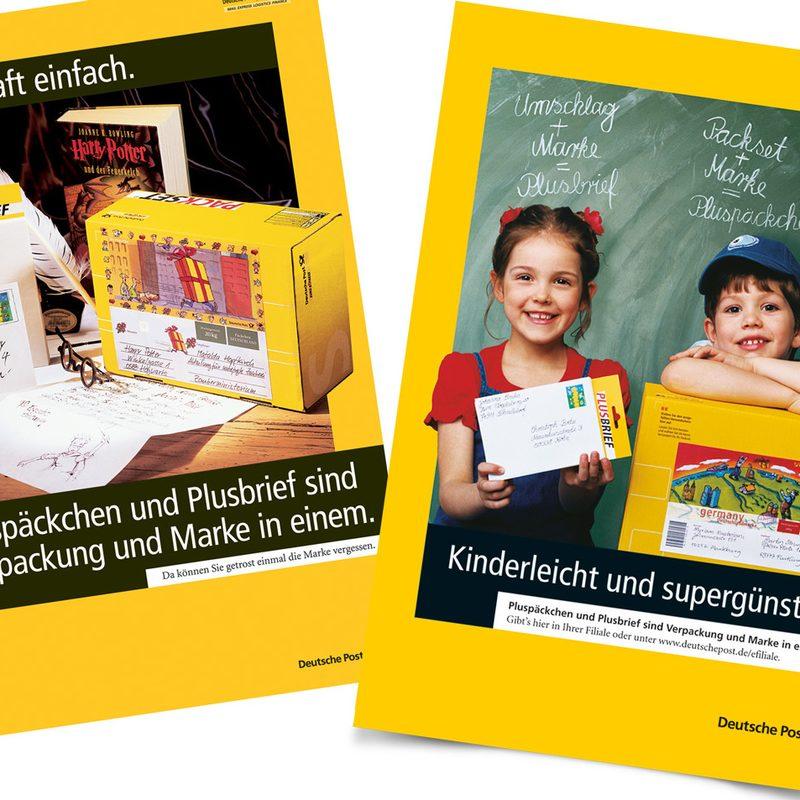 """Deutsche Post   Betreuung von """"Pluspäckchen"""" und """"Plusbrief"""""""