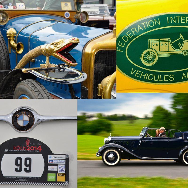Autostadt   Special Interest Websites (Oldtimer-Ralleys, Messen) mit QR-Code Maßnahmen. Fotoshootings