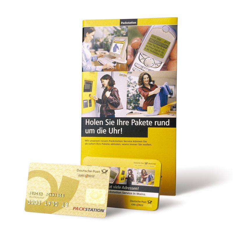 "DHL / EuroExpress   Konzeption und laufende Beratung im Pilotprojekt ""Packstation"""