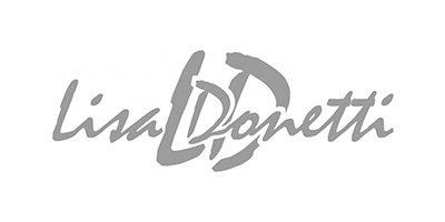 Lisa Donetti. Eine Brautkleidmarke, die verspielte und moderne Brautmode herstellt. Erhältlich bei Princess Dreams.