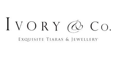 Das Logo des Brautschmuck Herstellers Ivory & Co.