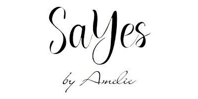 SaYes by Amelie. Eine Brautkleidmarke, die günstige Brautmode entwirft. Erhältlich bei Princess Dreams