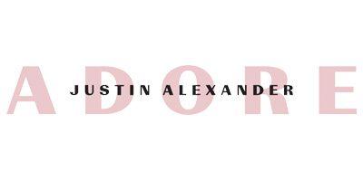 Adore Justin Alexander. Eine Brautkleid Firma, die verspielte Brautmode herstellt.